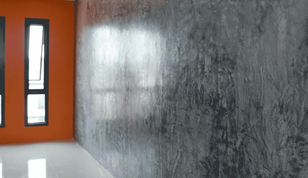 Décoration entreprise : enduit stucco