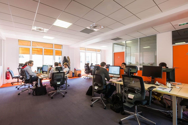 moquette acoustique U3P3 pour bureaux
