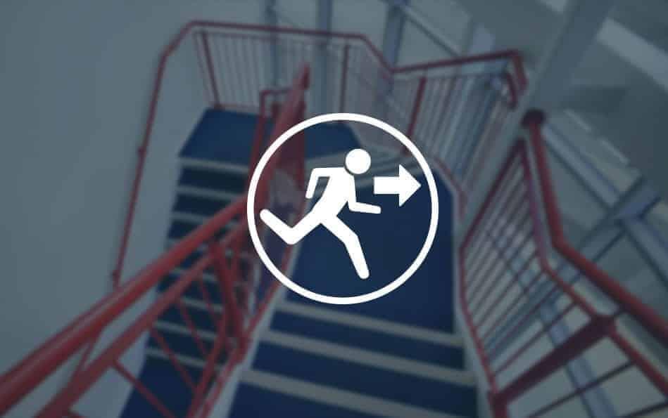 réglementations evacuation bureaux professionnels