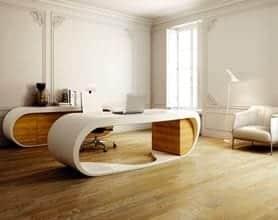 Google desk bureau design