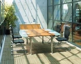 Table reunion Nautile et plantes