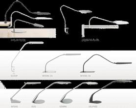 Mobilier de bureau : lampe fluo