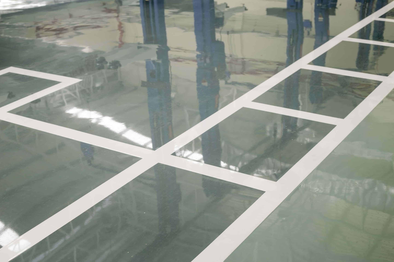 Application resine epoxy pour sols parking