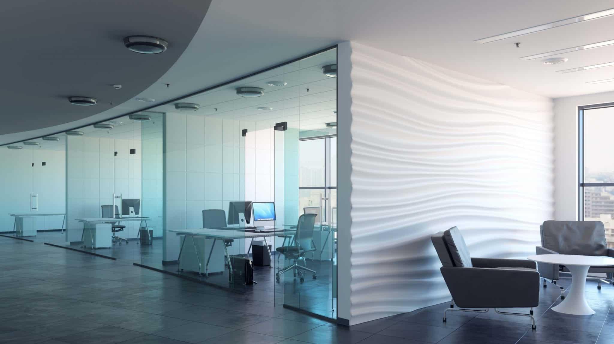 Cloison de bureau acoustique pour séparation d espace de travail