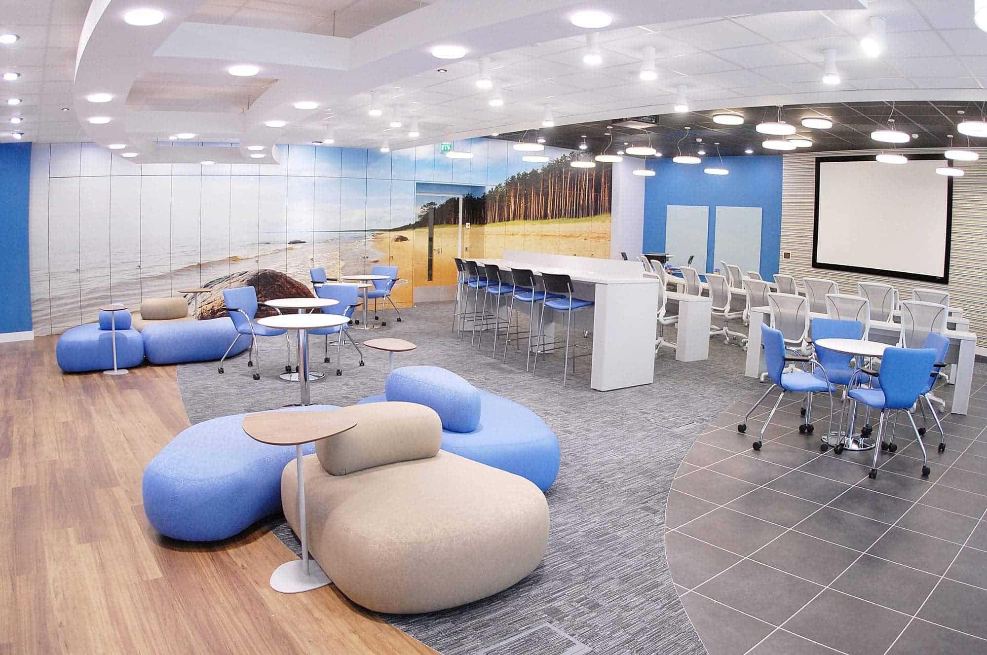 Cloison de s paration de bureau kytom for Quelle couleur pour un bureau professionnel