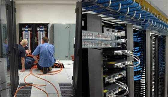 Recettage réseau informatique d'entreprise