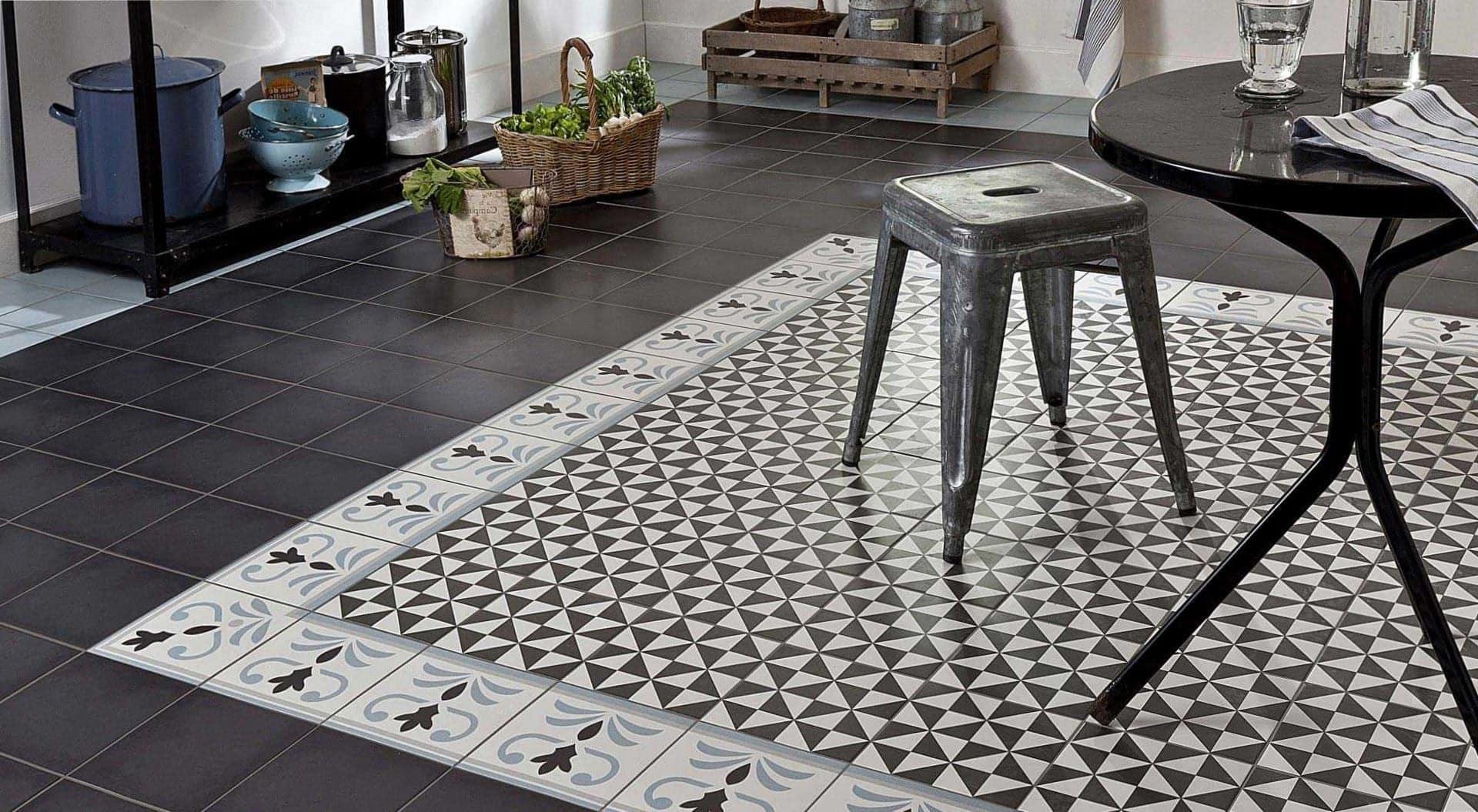 Décor Balatum carreaux ciment pour entreprises