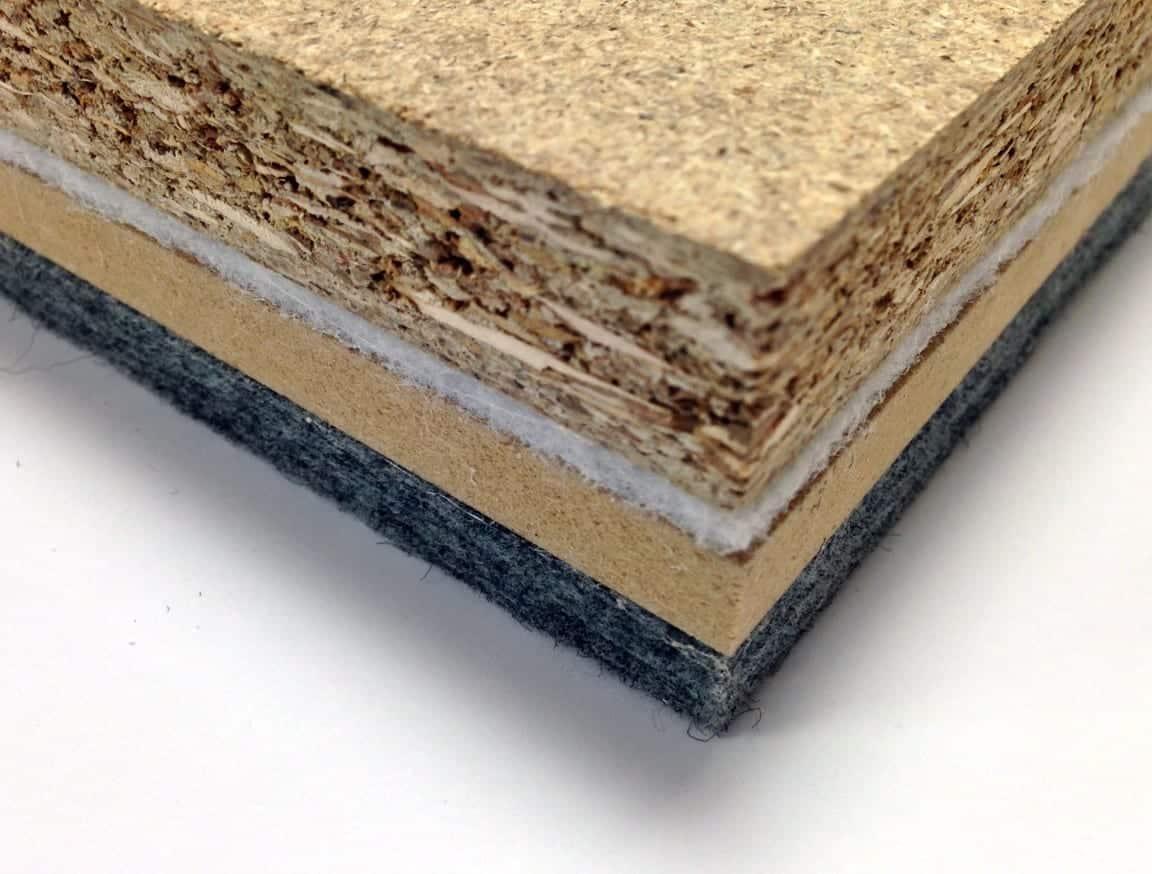 Dalle plancher technique bois pour aménagement de bureaux