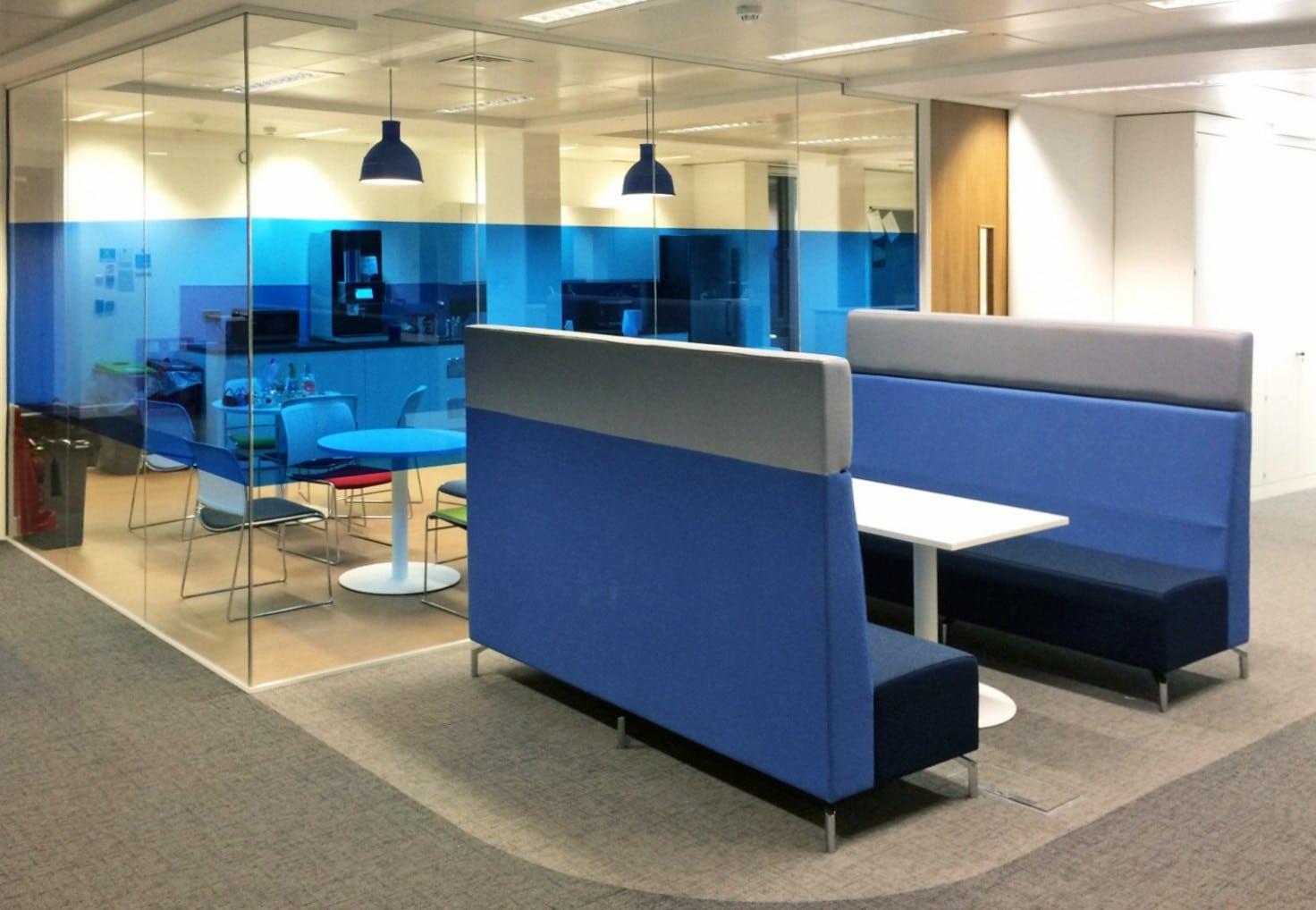 Alcove pour espace confidentialité ergonomique