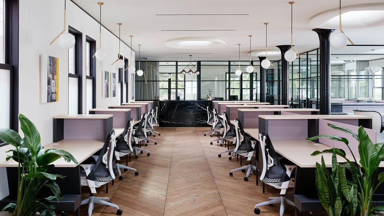 Cloison atelier open space pour aménagement de bureaux