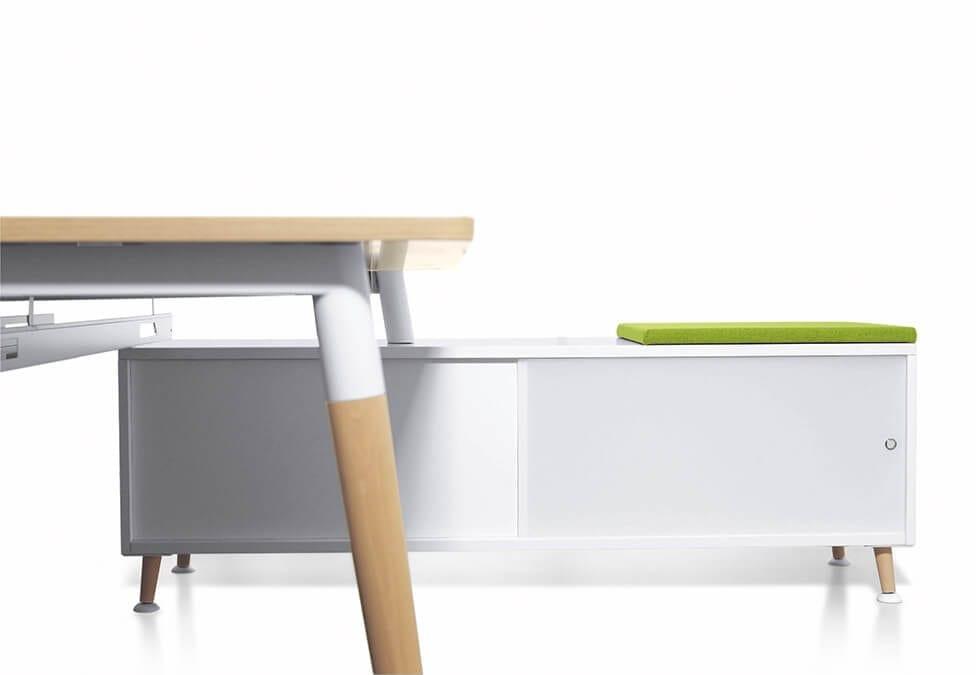 Table de bureau Native avec rangement