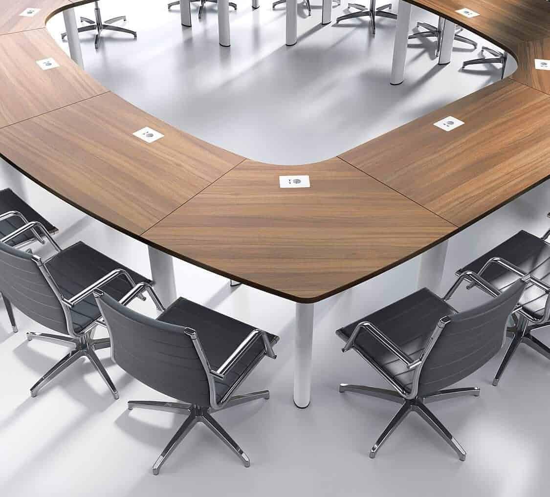 Table de réunion modulaire Frégate