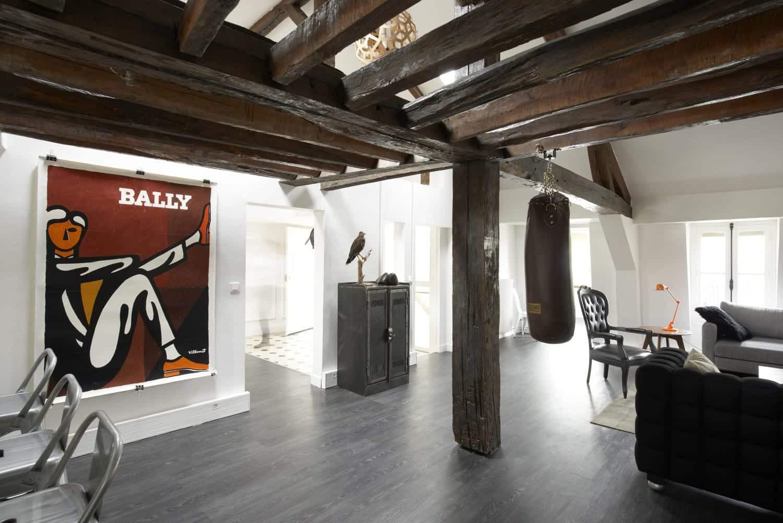 Salon Lounge pour bureaux d'une agence de communication - Kytom, Services de design d'intérieur