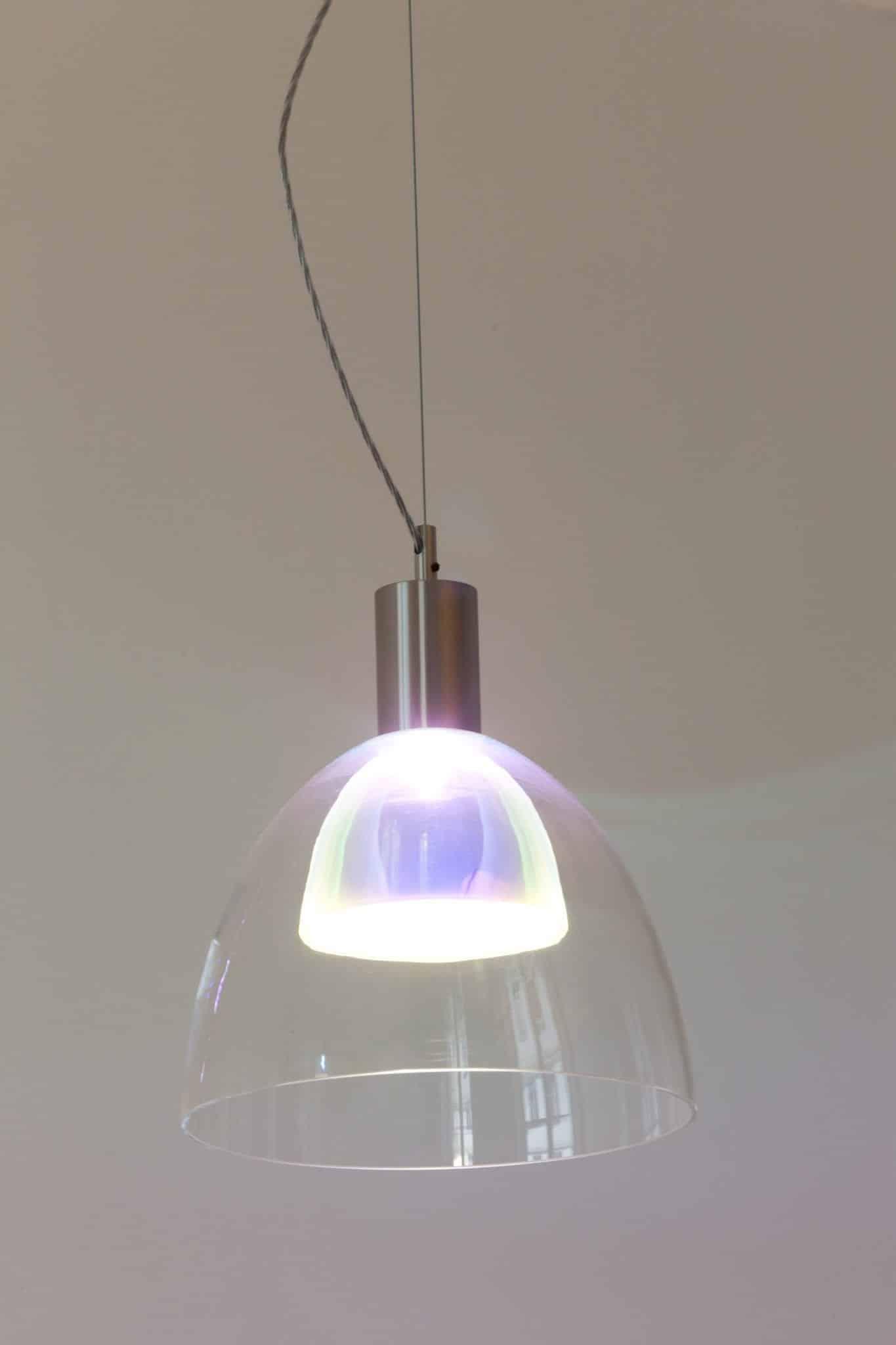 Suspension éclairage design pour bureaux